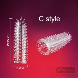 Spike Dotted For Men dildo sheath Condoms PES-035